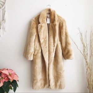 H&M Blogger Favorite, Faux Fur Coat NWT
